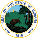 State of Indiana - Seal