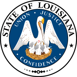 Seal of Louisiana state