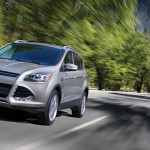 Ford Escape on the road